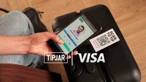 Visa partners with TiPJAR