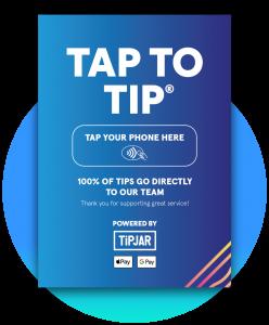 TiPJAR tap to tip mobile