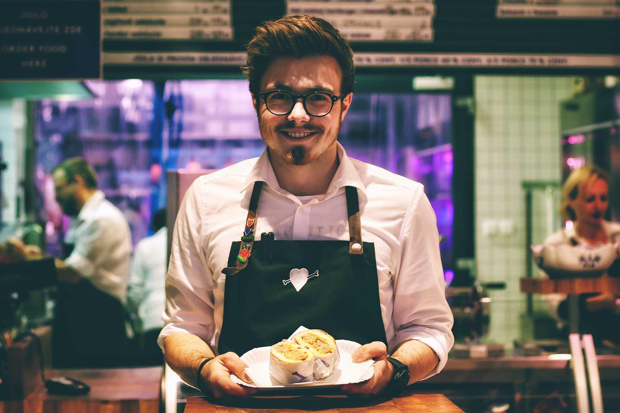 tipjar waiter